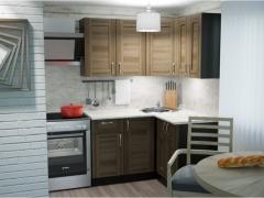 Гарнитур кухонный Кира Прайм угловой 1200х1400