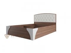 Кровать двухспальная 1600 Лагуна-7 со стразами