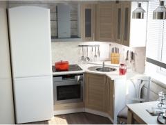 Кухонный гарнитур Лира Литл угловой 1200х1500